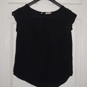 Joie black blouse